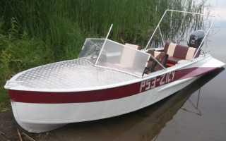 Вес лодки казанка с булями