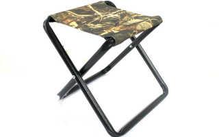 Как сделать стул раскладной для рыбалки