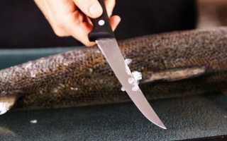 Как правильно чистить рыбу от чешуи