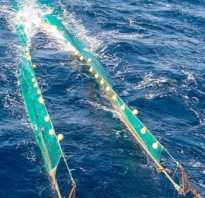 Виды рыболовных сетей и их названия